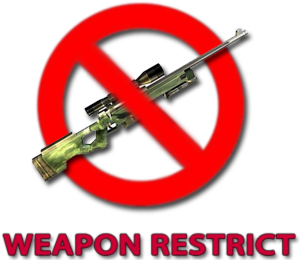 Weapon Restrict 3.0.9 для css